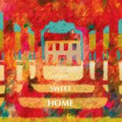 Gd carnet 15x15 Home Sweet Home